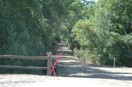Construction is underway for the new 6 mile trail around Easter Lake