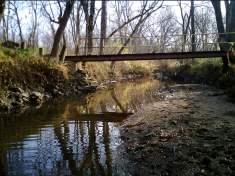 Yeader Creek west of Easter Lake.