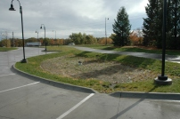 Entire parking lot runoff is managed!