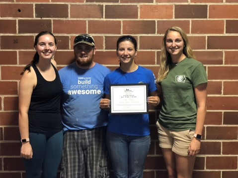 2018 Partner of the Year Award, Green Iowa AmeriCorps - Des Moines Service Team