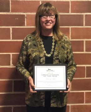 2018 Urban Steward of the Year, Karen Stiles